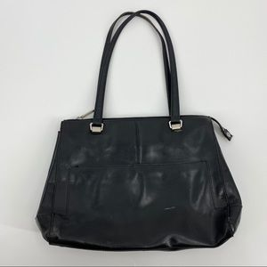 HOBO Black Leather Bag